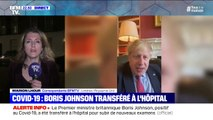 Royaume-Uni: Boris Johnson, positif au Covid-19, hospitalisé pour des examens