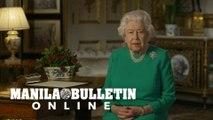 Queen Elizabeth II thanks health workers in rare TV address