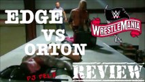 Edge VS Randy Orton WWE Wrestlemania 36 Last Man Standing Review With Spoilers