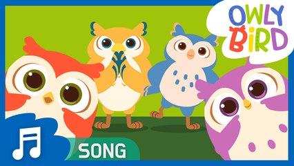 If You're Happy | Nursery Rhymes  | OwlyBird | Kids Songs