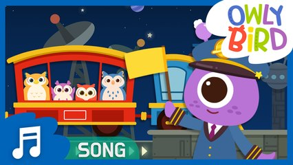Down By The Station | Best Kids Song Ever | Famous Mother Goose | Nursery Rhymes | OwlyBird