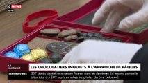 Les chocolatiers inquiets à l'approche de Pâques