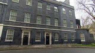 Matt Hancock and Dominic Raab arrive at Downing Street