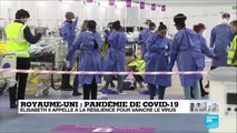 Covid-19 au Royaume-Uni : Elisabeth II appelle à la résilience pour vaincre le virus
