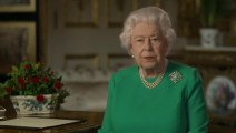 Britain's Queen Elizabeth II gives coronavirus speech