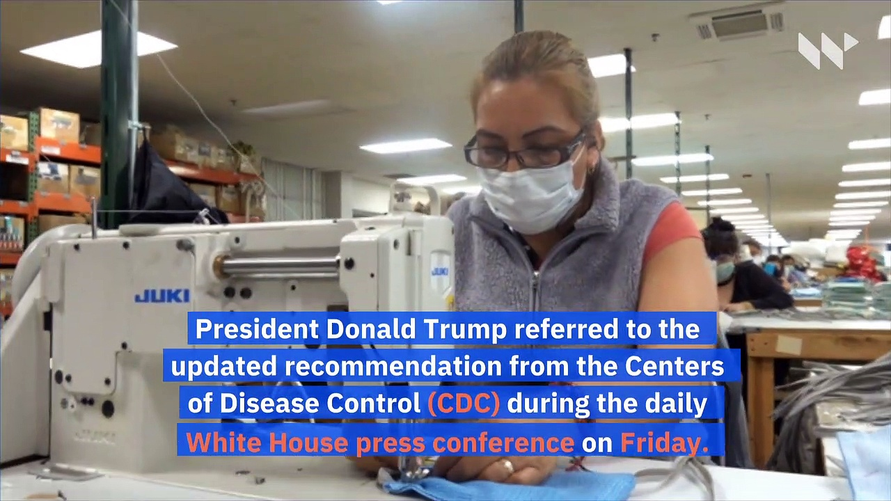 CDC Recommends Americans Wear Masks