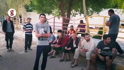 Irak'ta mahsur kalan işçiler: Biz Türkiye vatandaşı değil miyiz?