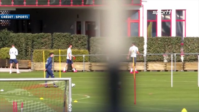 Les images du retour à l'entraînement du Bayern Munich