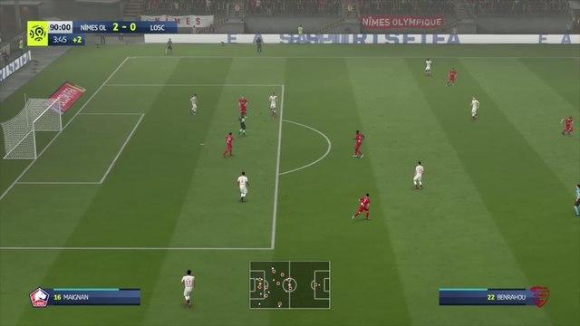 Nîmes Olympique - LOSC : notre simulation FIFA 20 (L1 - 34e journée)