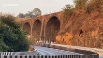 British-era bridge in India dating back 190 years demolished in controlled blast