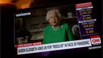Queen Elizabeth's Speaks Out In Rare Broadcast To Thank Those Helping In The COVID-19 Outbreak