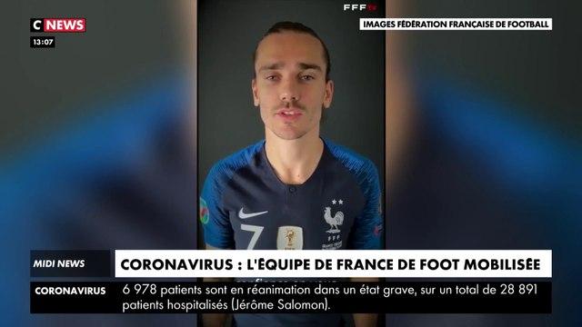 Covid-19 : L'équipe de France mobilisée