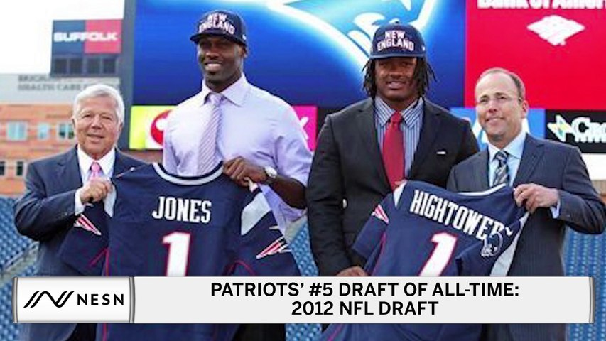 New England Patriots No. 5 All-Time NFL Draft: 2012