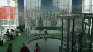 Defying Gravity! Watch This Skydiver Bust Some Choreographed Moves in a Vertical Wind Tunnel!