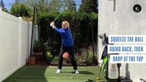 Check Your Swing With Just a Basketball