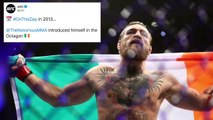 Conor McGregor made his UFC debut seven years ago today