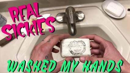 Real Sickies - Washed My Hands (official video)