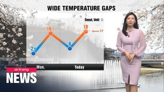 [Weather] Dry and sunny spell to continue with wide temperature gaps