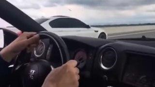 VÍDEO: Un BMW M5 de 750 CV se pica contra un Nissan GT-R R35 de 700, ¡Cuál gana?