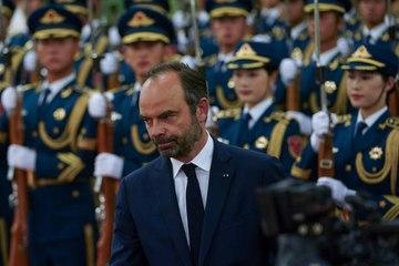 Portrait d'Édouard Philippe, premier ministre sous la présidence Macron