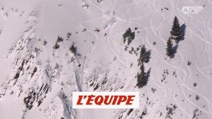 les plus gros crashs du Freeride World Tour 2020 - Adrénaline - Ski/snow freeride