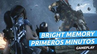 Primeros minutos de Bright Memory, el juego chino hecho por una sola persona