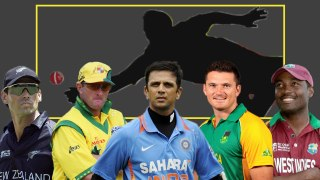 Top 10 players with most catches in International cricket