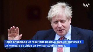 Boris Johnson permanece en el hospital por coronavirus