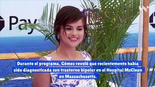 Selena Gomez revela que fue diagnosticada con trastorno bipolar