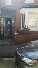 Alan Butler's Happy Birthday sing along in Banbury