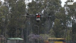 المكسيك: طائرات آلية القيادة لمحاربة الكورونا !!!
