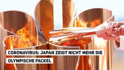 CORONAVIRUS: JAPAN STELLT DIE OLYMPISCHE FACKEL NICHT MEHR AUS