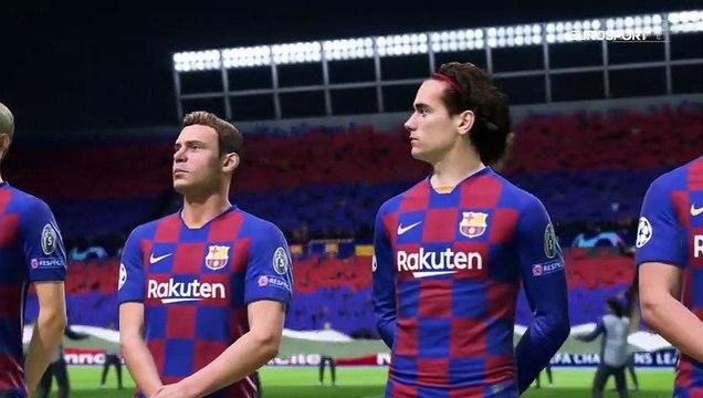 On a simulé la fin de la C1 : retrouvailles chaudes entre Griezmann et l'Atlético
