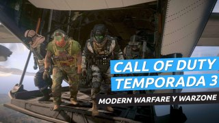 Call of Duty Modern Warfare - Tráiler temporada 3