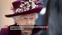 Millions Watch Queen Elizabeth