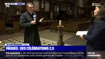 Pour célébrer Pâques malgré le confinement, ce prêtre prépare des messes 2.0