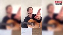 Raphaël : Scène de ménage en direct avec Mélanie Thierry pendant un live (Vidéo)