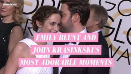 Emily Blunt and John Krasinkski's most adorable moments