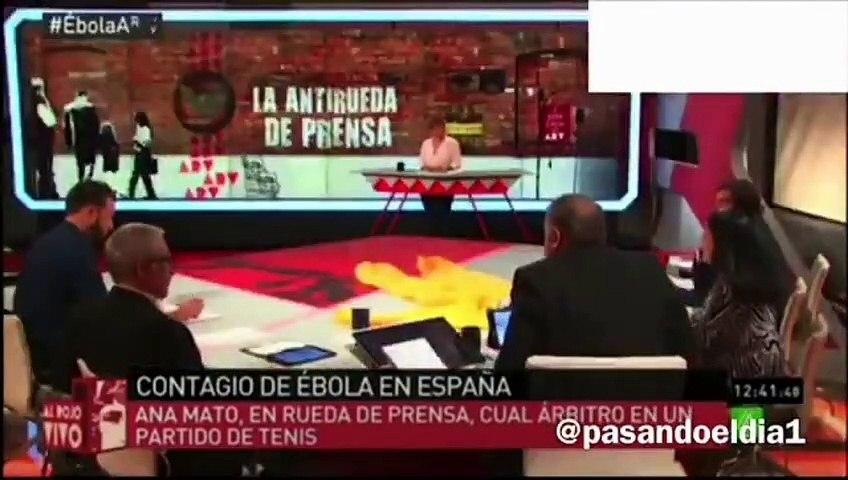 Lo que decía Ferreras, que ahora insulta a los críticos con el Gobierno, de la crisis del ébola