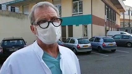 Questions au Dr Bernard Tellaroli, chef du service pneumologie de l'hôpital Marie-Madeleine à Forbach