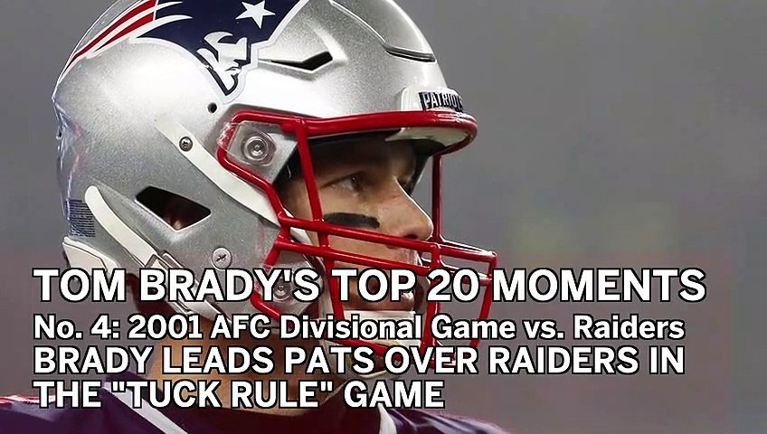 No. 4: Tuck Rule Game | Tom Brady's Top 20 Patriots Moments
