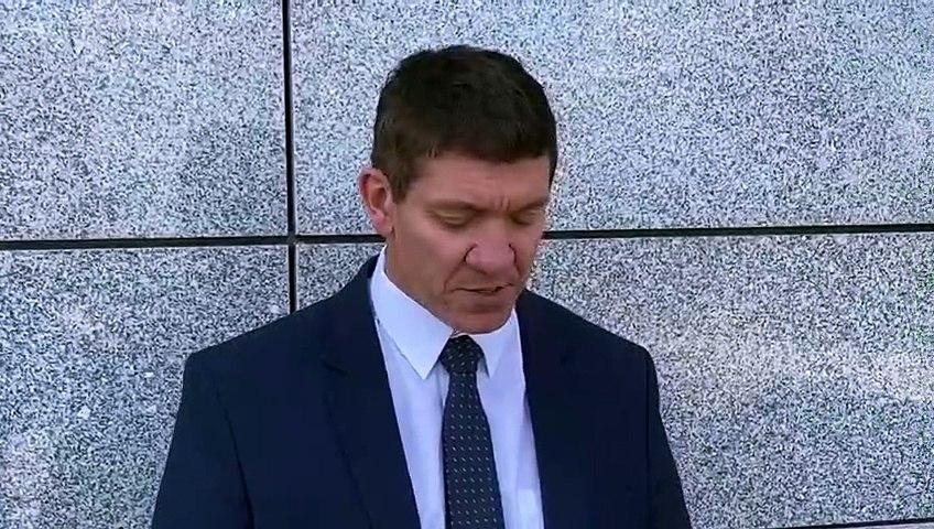 Detective Constable Chris Bentham reads Coleen Greenwood's victim impact statement
