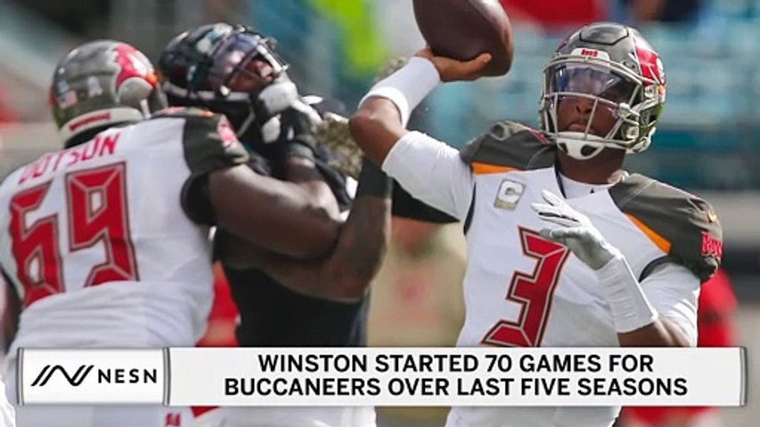 Jameis Winston Doesn't Hate Idea Of Being Replaced By Tom Brady