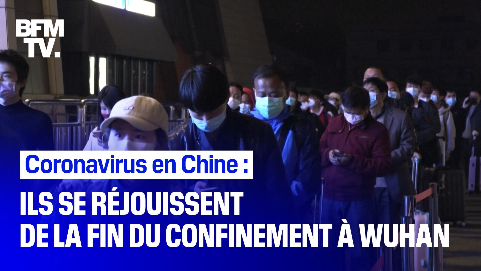 Coronavirus en Chine: des milliers d'habitants quittent Wuhan après la fin du confinement