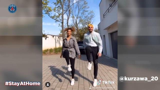 Coronavirus - Marquinhos le clown, Kurzawa le danseur : comment les joueurs du PSG vivent leur confinement