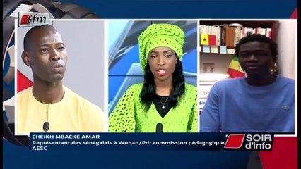 SOIR D'INFO - Wolof - Invité : Cheikh MBAKE AMAR - Pr : NDEYE ARAME TOURÉ - 08 Avril 2020