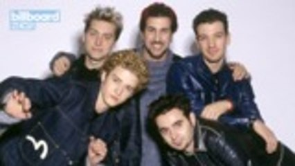 Lance Bass Reveals That *NSYNC Has Weekly Virtual Happy Hours   Billboard News