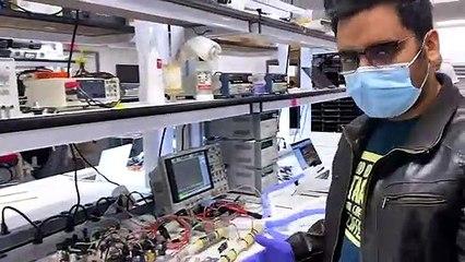 أجهزة تنفس مصنعة من أجزاء سيارات تيسلا