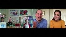 British royals surprise schoolchildren with video call