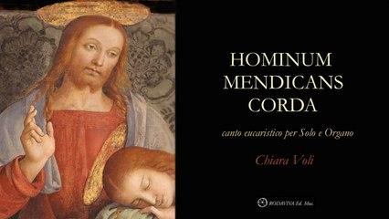 Chiara Voli - HOMINUM MENDICANS CORDA